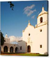 Mission Nuestra Senora Del Espiritu Santo De Zuniga At Sunset - Goliad Coastal Bend Texas Canvas Print