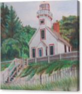 Mission Point Lighthouse Canvas Print