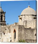 Mission San Jose Towers Canvas Print