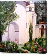 Mission San Juan Batista Canvas Print