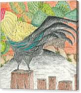 Mission San Juan Bautista Garden Canvas Print