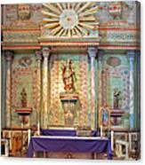 Mission San Miguel Arcangel Altar, San Miguel, California Canvas Print