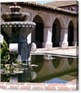 Mission San Miguel Fountian 2 Canvas Print