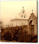 Mission San Xavier Chapel Canvas Print