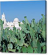 Mission San Xavier Del Bac Canvas Print