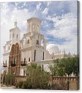 Mission San Xavier Canvas Print