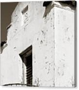 Mission Stucco Building Canvas Print