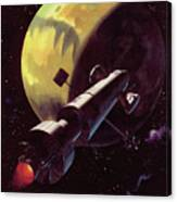 Mission To Mars Canvas Print