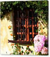 Mission Window 1 Canvas Print