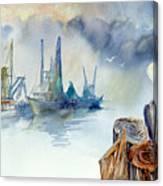 Mississippi Pelican Canvas Print