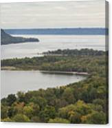 Mississippi River Lake Pepin 7 Canvas Print