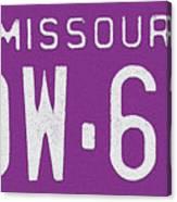 Missouri '78 Canvas Print