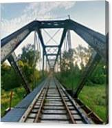 Missouri Side Of Track's Canvas Print