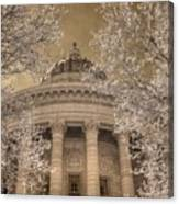 Missouri State Capitol Jefferson City Infrared Photograph