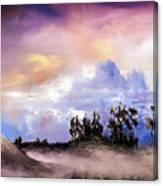 Mist After The Storm Canvas Print