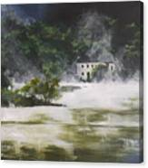 Mist On Derwent Water Canvas Print