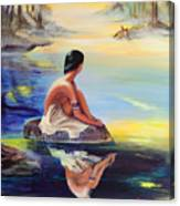 Mist Reflections Canvas Print