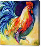 Mister Show  Rooster Art Canvas Print