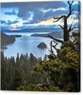 Mistic Tahoe Sunrise Canvas Print