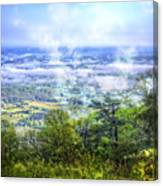 Mists In The Valley Canvas Print
