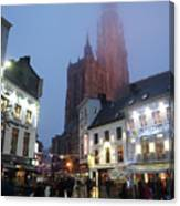 Misty Cathedral Canvas Print