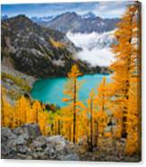 Misty Colchuck Lake Canvas Print