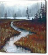 Misty Maine Canvas Print