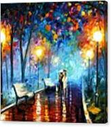 Misty Mood Canvas Print