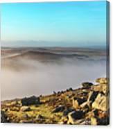 Misty Moor Canvas Print