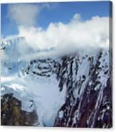 Misty Mountain Flat Top Canvas Print