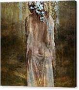 Misty Woods Canvas Print