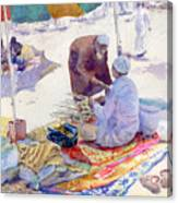 Miswak Seller Jeddah Canvas Print