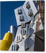 Mit Stata Center Cambridge Ma Kendall Square M.i.t. Canvas Print