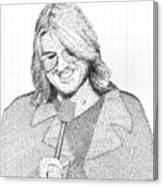 Mitch Hedberg In His Own Jokes Canvas Print