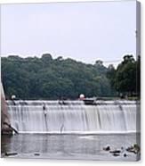 Mitchell Iowa Dam Canvas Print