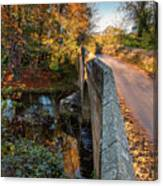 Mitford Bridge Over River Wansbeck Canvas Print