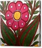 Mithila Bloom Canvas Print