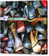 Mix Of Shoes Nyc Canvas Print