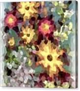Mixed Floral Canvas Print