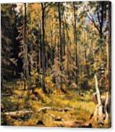 Mixed Forest Canvas Print