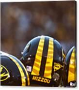 Mizzou Football Helmet Canvas Print