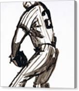 Mlb The Pitcher Canvas Print
