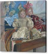 Mlle. Pinchon Canvas Print