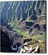 Mmm-119 Sacred Hawaiian Chieftans Resting Place Honopu Arch Canvas Print