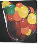 Mmmm   Candies Canvas Print