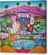 mmmm... Palm Springs Canvas Print
