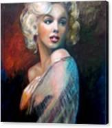 M.Monroe Canvas Print