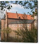 Moated Castle Herten II Canvas Print