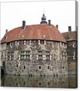 Moated Castle Vischering Canvas Print