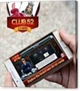 Mobile App Development Abu Dhabi Canvas Print